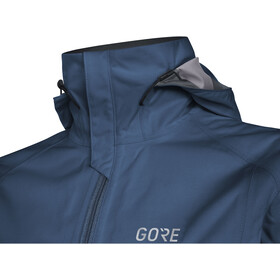 GORE WEAR R3 Gore-Tex Active Hooded Jacket Women, deep water blue